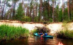 Dzūkijos nacionalinis parkas-plaukimas Ūla