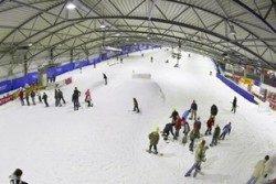 Poilsis sodyboje - pramogos Druskininkuose vaikams - snow arena