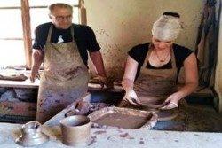 Juodoji keramika-edukaciniai užsiėmimai sodyboje Dzūkijos uoga
