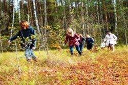 Aktyvus poilsis gamtoje-pramogos sodyboje ir Druskininkuose vaikams