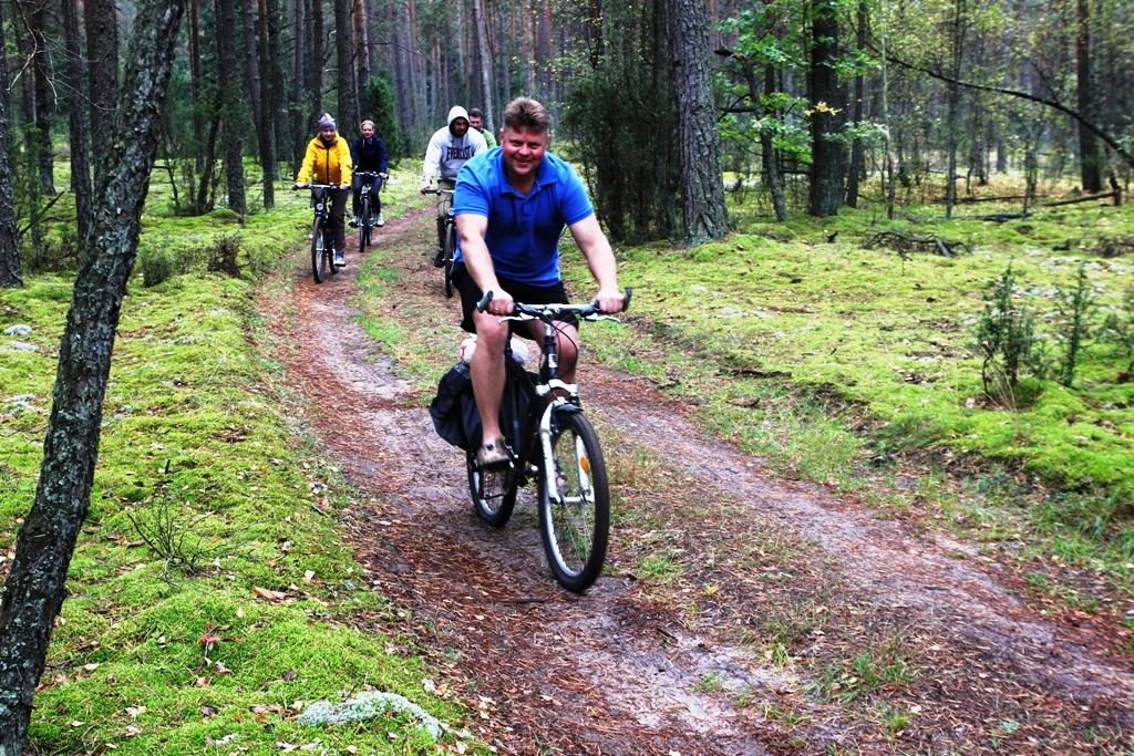 Litauen fahrrad-radtouren im nationalpark Dzukija