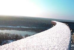 Ką veikti sodyboje žiemą.Merkinės apžvalgos bokštas Dzūkijoje