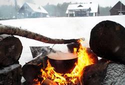Foto: kaimo turizmo sodybos pramogos žiemą - Dzūkijos uoga