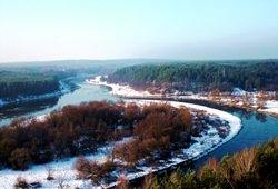 Kaimo turizmas žiemą.Merkinės apžvalgos bokštas