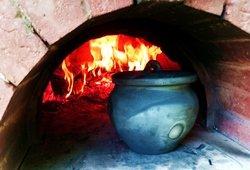 Savaitgalio pramogos žiemą. Dzūkiškų patiekalų ruošimas pečiuje