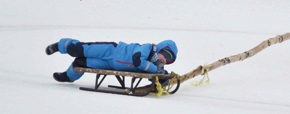 Фото : Чем заняться в Друскининкай зимой с детьми - кататься на санях или коньках - Dzūkijos uoga