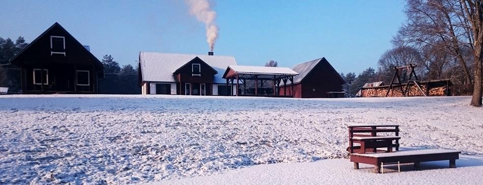 Фото - усадьба для отдыха в Друскининкай зимой - Dzūkijos uoga