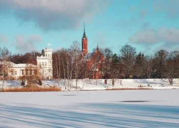 Фото : Друскининкай достопримечательности зимой - Dzūkijos uoga