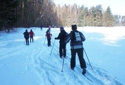 """Kaimo turizmo sodybos pramogos žiemą - slidinėjimas """"Dzūkijos uogoje"""""""