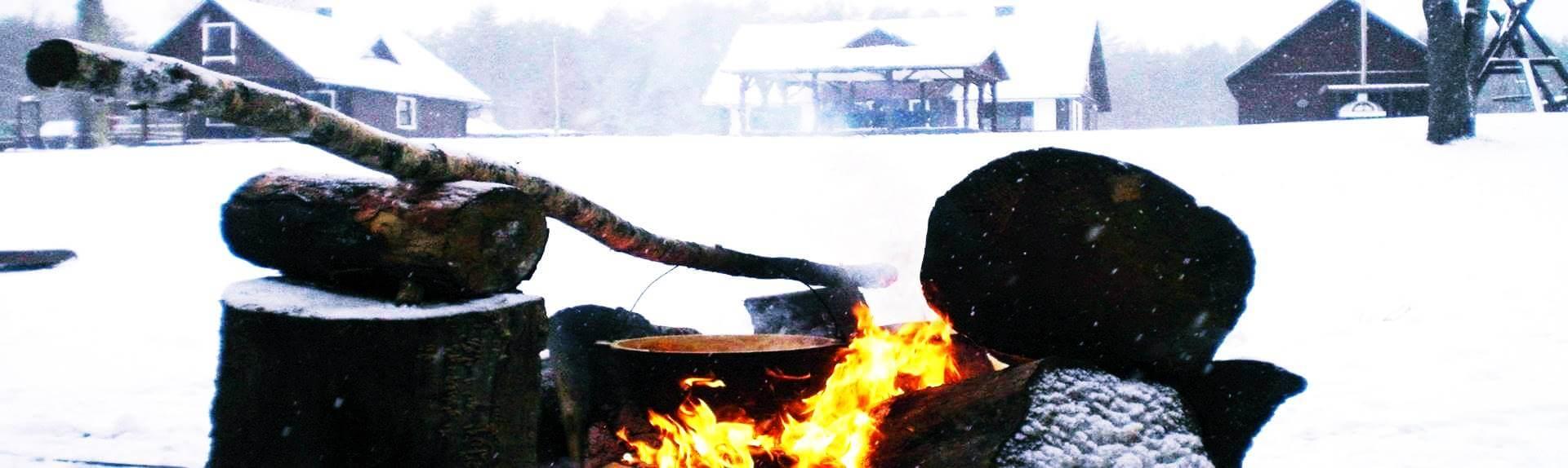 Kaimo turizmo sodybos nuoma žiemą Dzūkijoje -