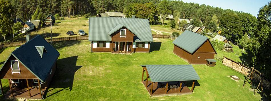 "Holiday homes for family vacation in Lithuania - ""Dzukijos uoga"""