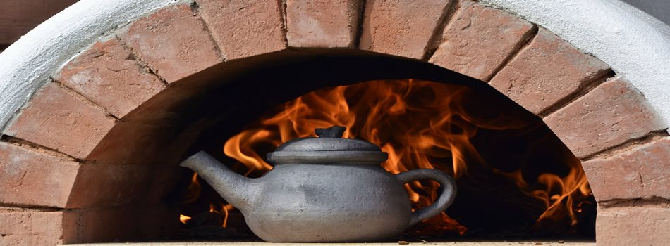 "Attractions in Lithuania - cooking national cuisine dishes on fire at villa ""Dzukijos uoga"""