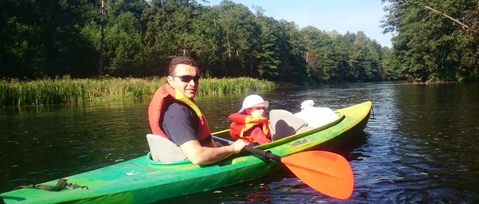 """Kayaking in Lithuania Druskininkai - active outdoor attractions in Villa """"Dzukijos uoga"""""""