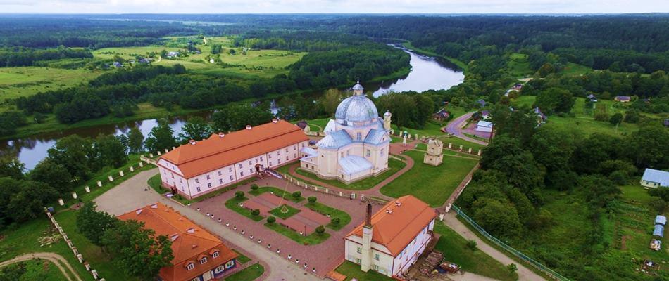 """Lithuania holiday attractions by Druskininkai - Liskiava monastery- """"Dzukijos uoga"""""""