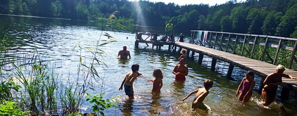Poilsis geriausioje sodyboje prie ežero - Dzūkijos uoga