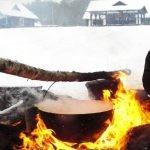 """Dzūkijos uoga"" - kaimo turizmo sodyba žiemą"