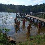 """חופשת קיץ ביער ליד המים בליטא -""""Dzukijos uoga"""""""